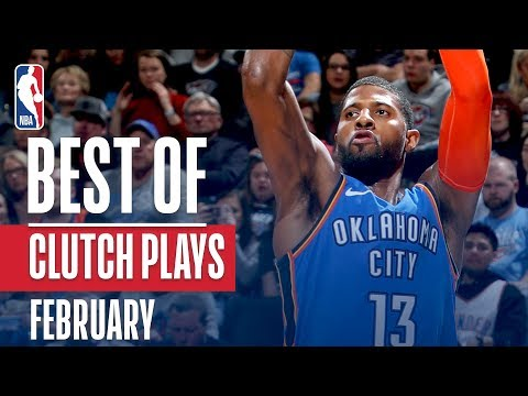 NBA's Best Clutch Plays | February 2018-19 NBA Season thumbnail