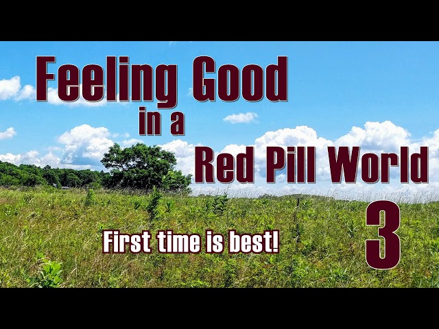 Feeling Good in a Red Pill World -  First Time is Best!