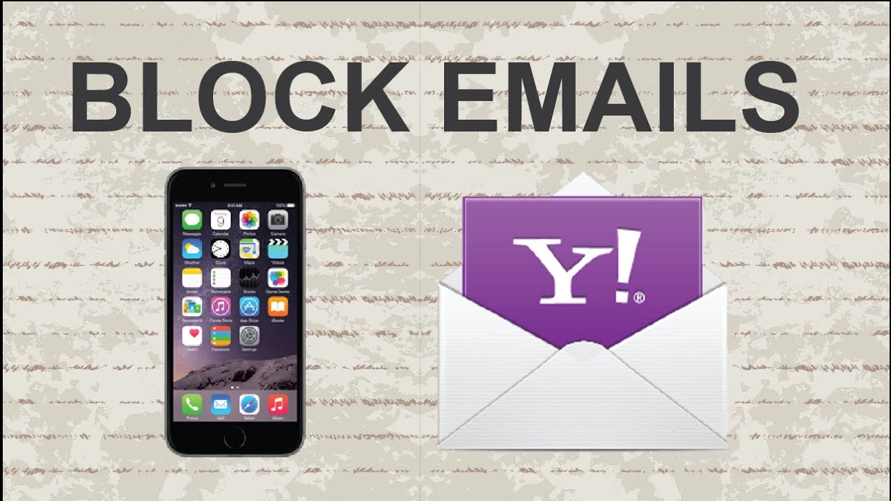 How To Block Emails On Yahoo  Mobile App