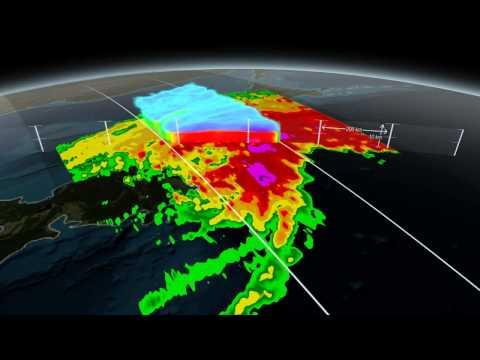 GPM Scans Typhoon Phanfone