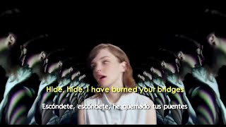 CHVRCHES - Gun (Lyrics - Sub Español) Official Video