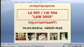 ครอบครัว (1/12) เทอม1/2558 #Sec2 รามฯ