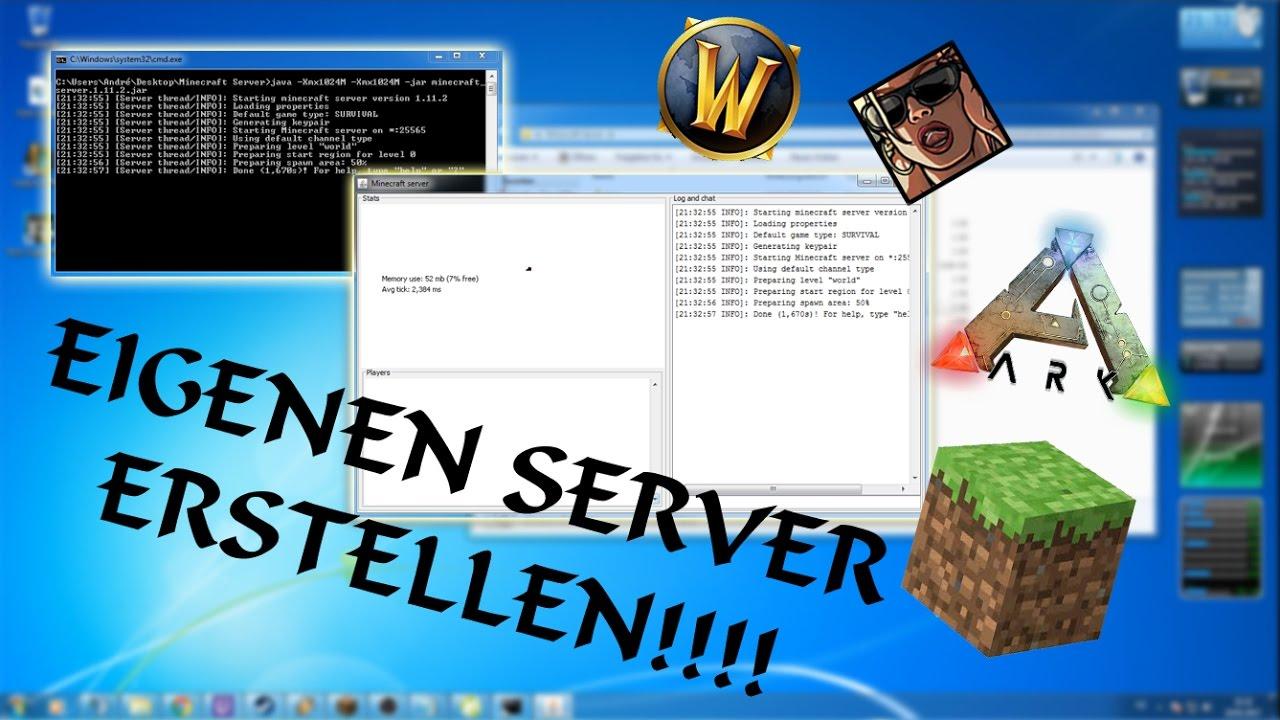 Eigenen Minecraft Server Erstellen Mit Eigener IP OHNE HAMACHI - Minecraft server erstellen 1 5 2 ohne hamachi kostenlos