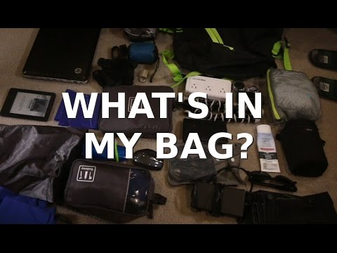 What's in my Venturesafe EXP45 backpack? My post Mexico gear video.