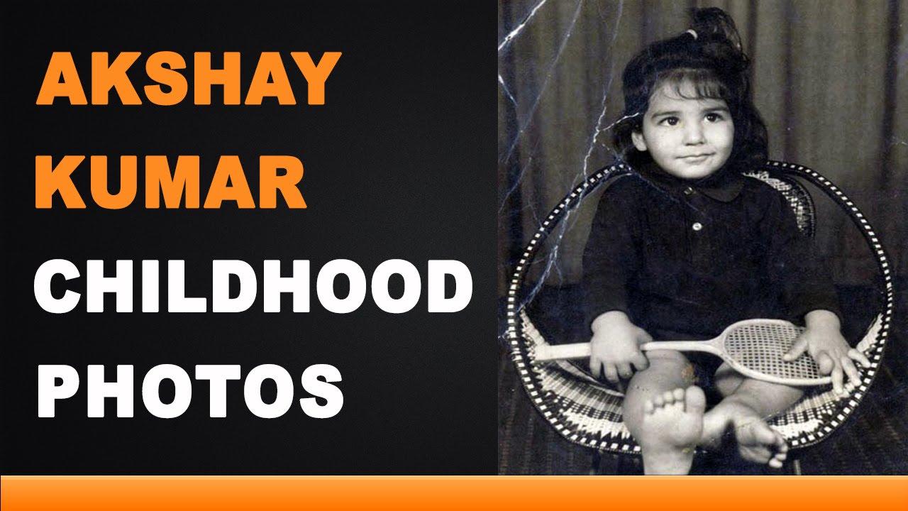 Akshay Kumar Childhood Photos - YouTube
