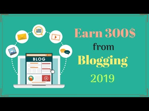 300$ per Month Earning Method From Blogging | Wiki Niche Blog