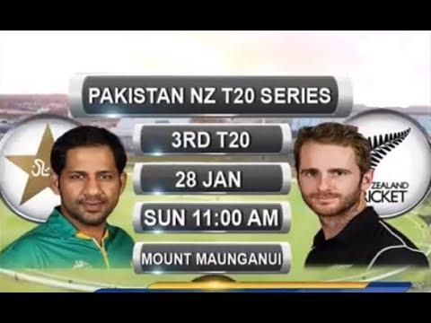Pakistan Vs New Zealand 3rd T20 - Pre Match Analysis Highlights - Pak Vs NZ