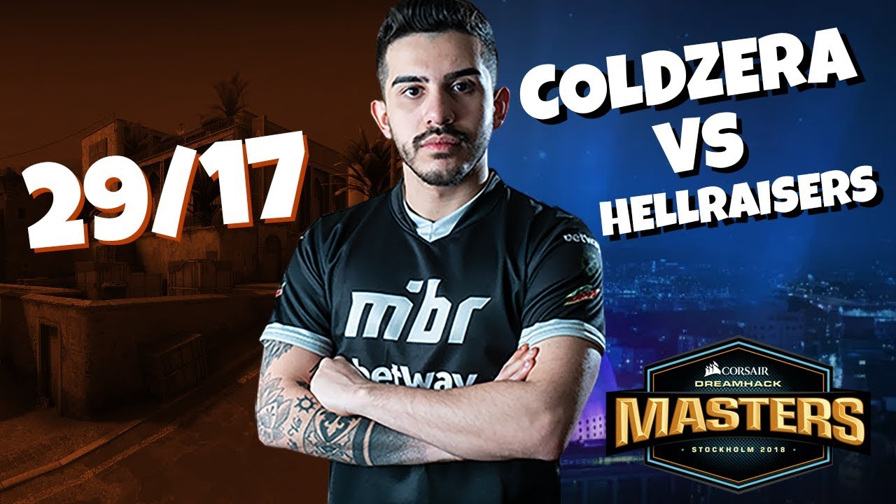 POV coldzera vs HellRaisers | 29/17 @ DH Stockholm 2018 (CS:GO)