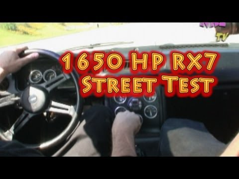 "1650 HP RX7, ""The Sleeper Part 2"", Scary and Funny, from NRE."