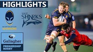 Worcester v Sale HIGHLIGHTS | Second Half Comeback After Red Card | Gallagher Premiership 2019/20