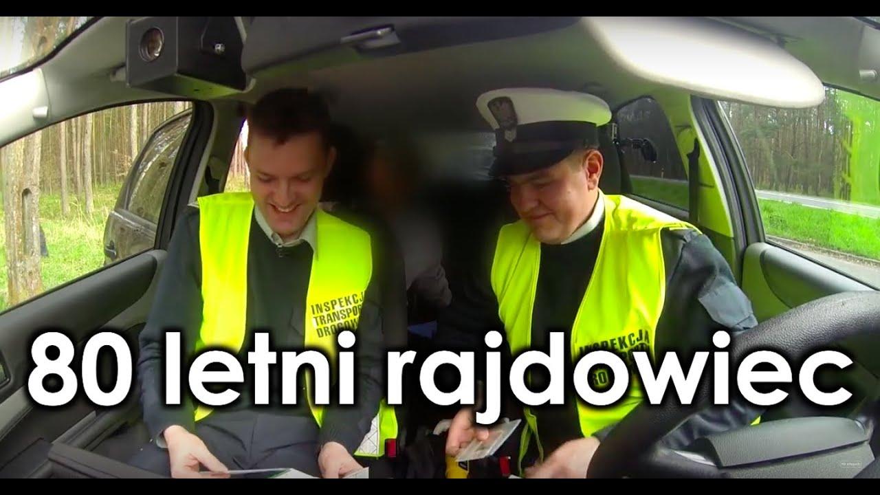 80 letni kierowca rajdowy ukarany przez ITD - Na drogach  ????