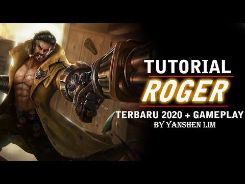 Tutorial cara pakai ROGER TERBARU 2020 Mobile Legend Indonesia
