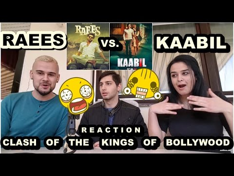 RAEES vs. KAABIL-SHAH RUKH KHAN vs. HRITHIK ROSHAN-Bollywood Official Trailer Reaction-From Germany