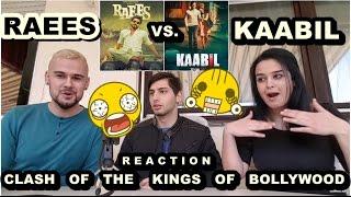 RAEES vs. KAABIL-SHAH RUKH KHAN vs. HRITHIK ROSHAN-Bollywood Official Trailer Reaction-From Germany