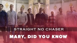"Straight No Chaser - ""Mary, Did You Know?"" (live, acoustic)"