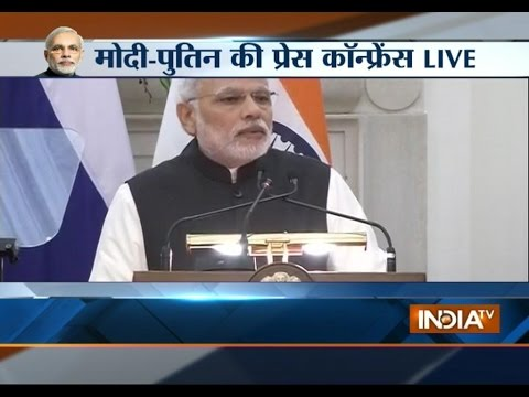 Live: India Inks Deals On Nuclear Power, Oil, Armed Forces With Russia - India TV