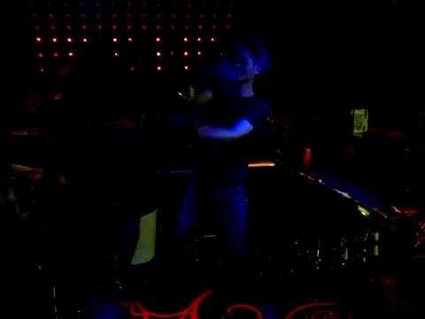Bottle juggling in club Vics, Beijing