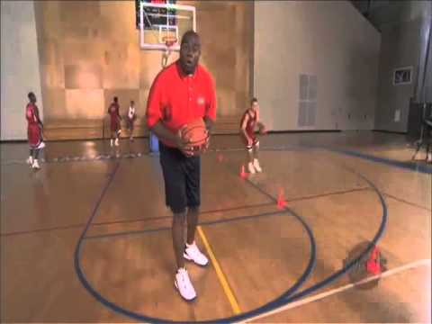 Magic Johnson explains how important basketball cone drills are to practice coordination and timing.