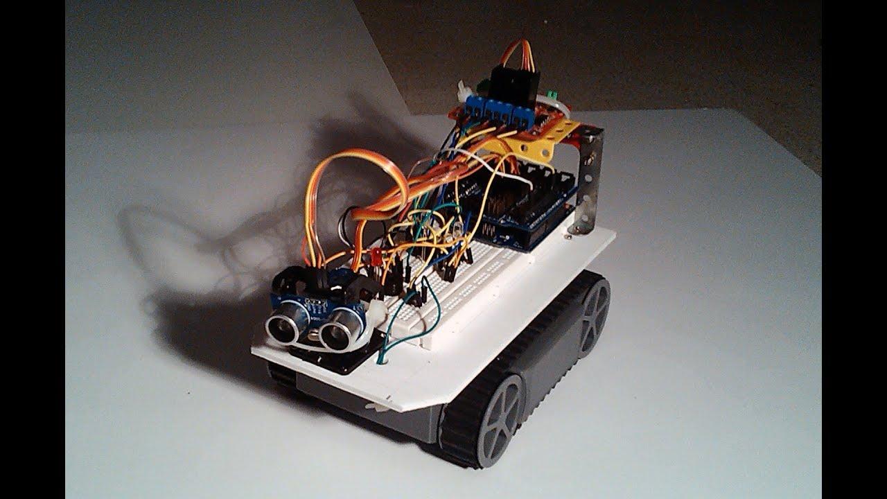 Prototipo de robot explorador hecho con arduino youtube