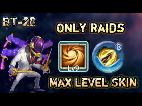 Asura | Max Skin In Action | 9/9 SL | Only Raids | 8 Zd Insignia | Castle Clash