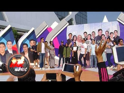 Keseruan Para Pemain Orang Ketiga di Acara Meet and Greet - Hot Shot 23 September 2018