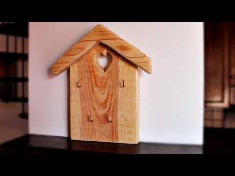 Key Rack Portachiavi Da Parete Fai Da Te Diy Youtube
