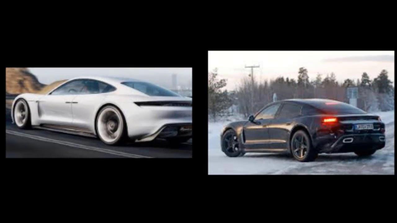 2019 Porsche Taycan Release Date Mission E Concept Hybrid
