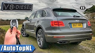 2018 Bentley Bentayga V8 Diesel REVIEW POV Test Drive on AUTOBAHN & FOREST Roads by AutoTopNL