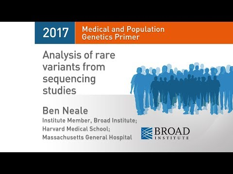MPG Primer: Analysis of rare variants from sequencing studies (2017)