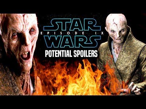 Star Wars Episode 9 Snoke