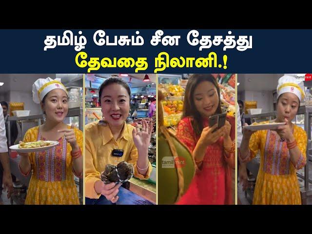 தமிழ் பேசும் சீன தேசத்து தேவதை நிலானி.! | TamilMint