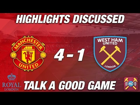 Manchester United 4-1 West Ham United Highlights Discussed LIVE Review | EFL CUP Quarter Final