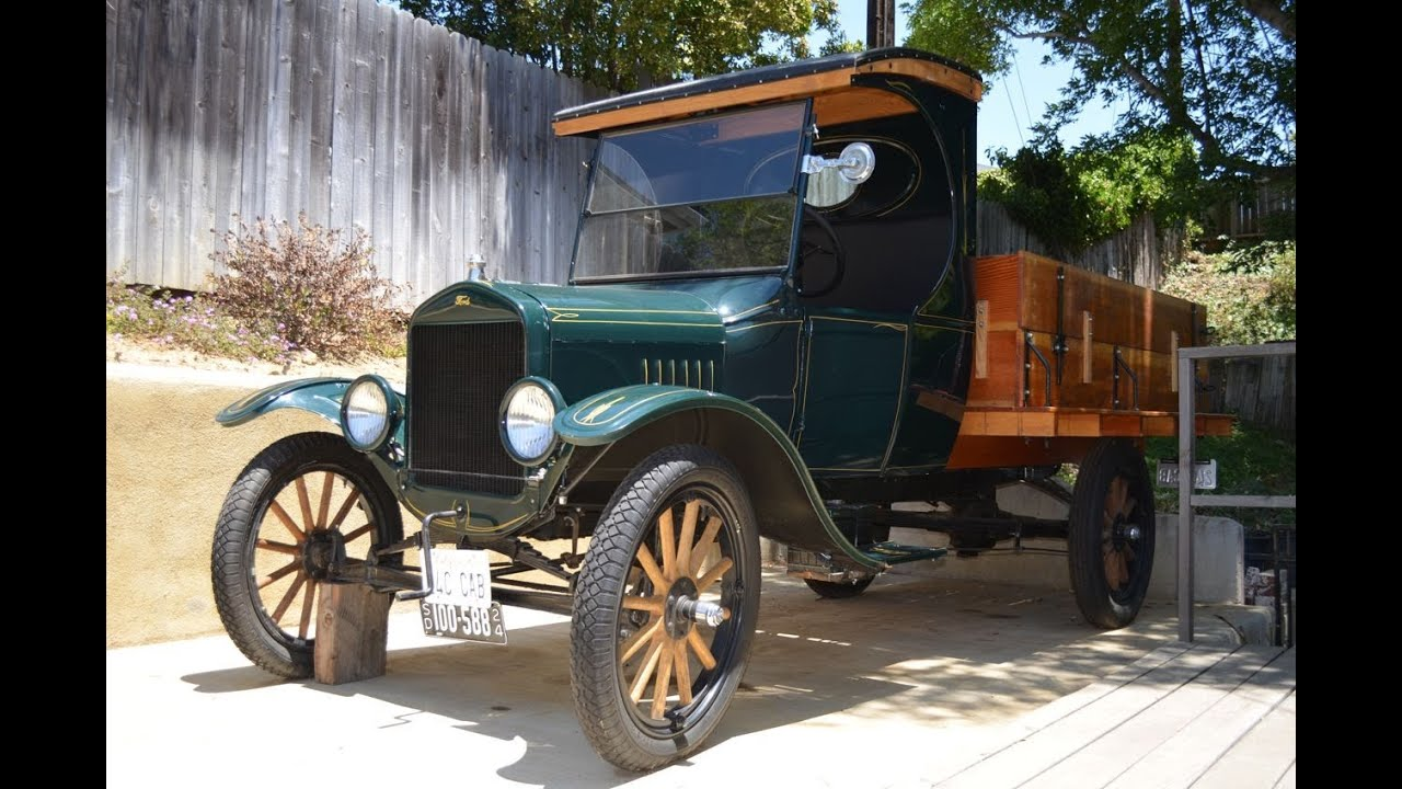 Sold 1924 Model T C Cab Truck Ca Youtube
