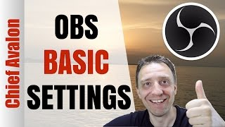 HOW TO LIVESTREAM WITH OBS?  | OBS BASIC SETTINGS | TUTORIAL | BEST OBS STREAMING SETTINGS