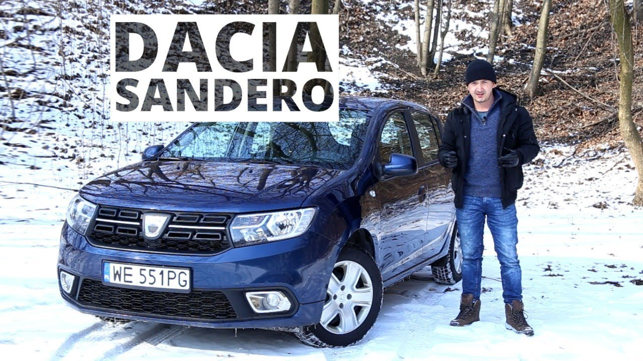 dacia sandero 1 0 sce 73 km mt test 378 youtube. Black Bedroom Furniture Sets. Home Design Ideas