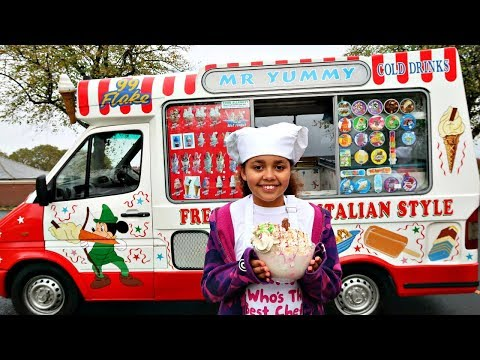 TIANA'S ICE CREAM TRUCK IS BACK!!!