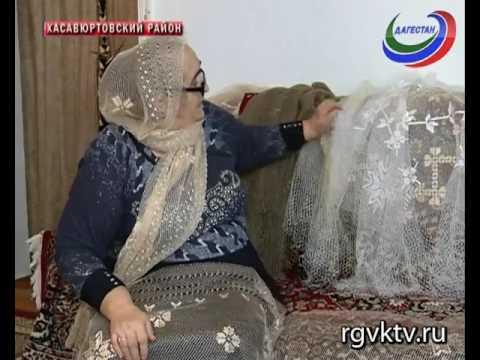 В Дагестане возрождают национальный вид рукоделия - изготовление платков-тастаров