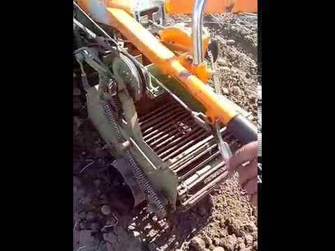 видео: Картофелекопалка своими руками