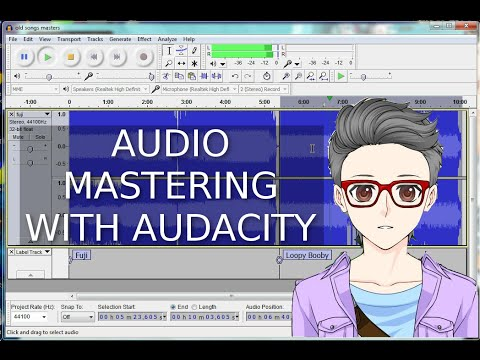 Audio Mastering an Album With Audacity | How To Make Your Songs Loud and Even Sounding