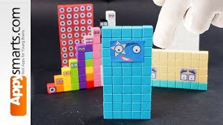Our New Magnetic Numberblock 50 ( crafts and math project for kids)