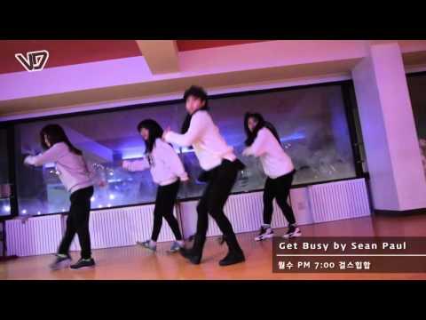 Girl`s Hip-Hop :: Sean Paul - Get Busy :: G-Eun Class :: Vroad Dance School