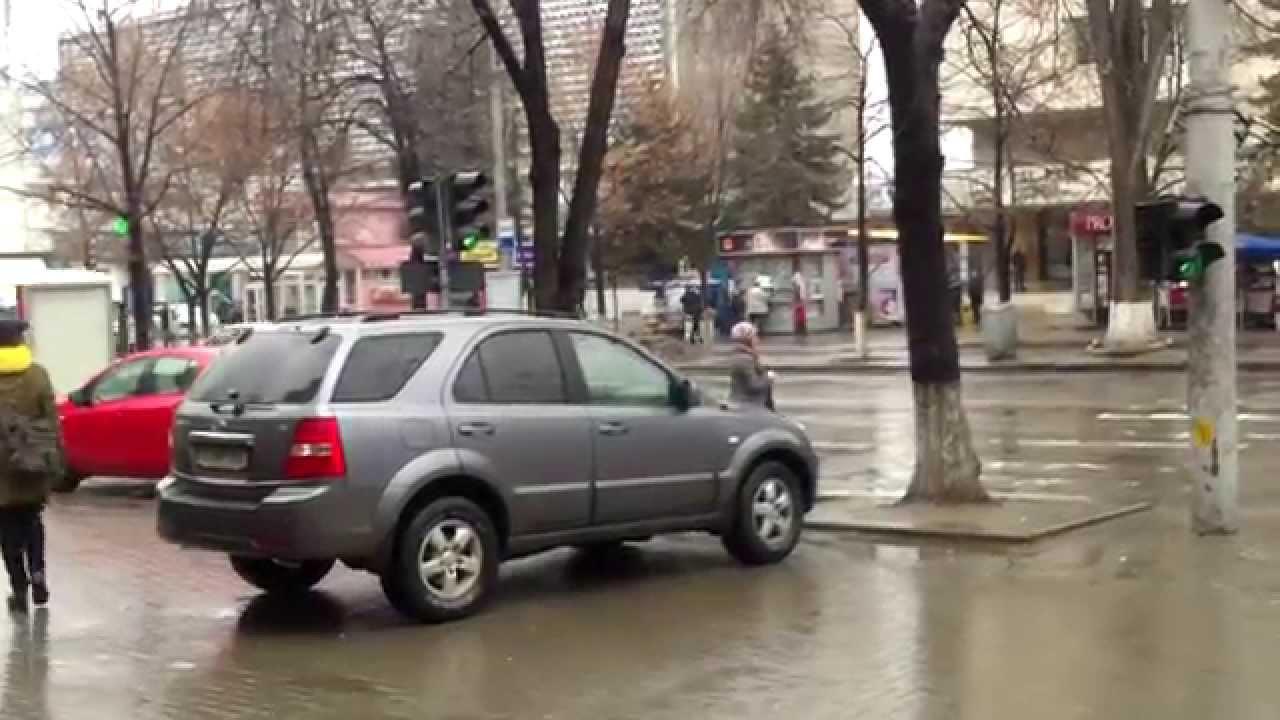 Intersecție-simptom pe bulevardul central din Chișinău