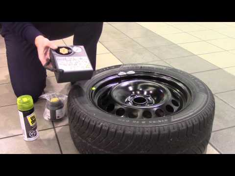 Spare wheel, space saver or tyre repair kit?