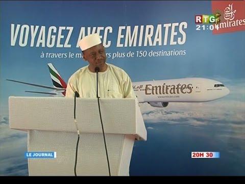 www.guineesud.com - RTG du 30 octobre 2016 - Conakry: Reprise des vols emirates