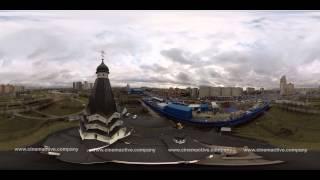 Первая тестовая съемка видео360 с квадрокоптера в Санкт Петербурге(, 2015-05-11T00:16:02.000Z)