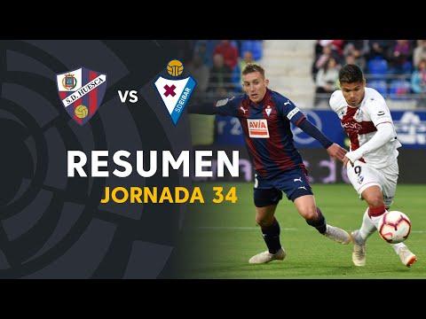 Resumen de SD Huesca vs SD Eibar (2-0)