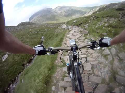 Lake District MTB - Ambleside to Keswick via Esk Hause
