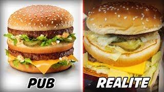 PUB VS RÉALITÉ - LES FOOD HACKS UTILISÉS PAR MCDO