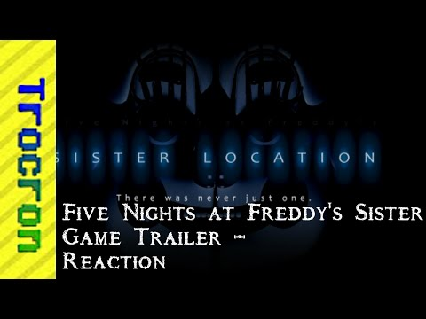 """New FNAF Game!!!"" - Five Night's at Freddy's Sister Location Trailer Reaction"