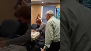 Irving\'s 90th Birthday Surprise!